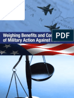 Weighing Benefits and Costs of Military Action Against Iran - Iran Project