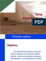 erosión eolica ppt