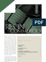 Res in Commercio 11 2012