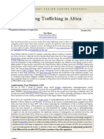 CFC Thematic Report - Drug Trafficking in Africa, 07 December 12