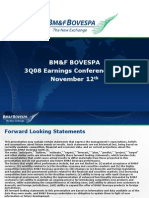 3Q08 Earnings Conference Call Presentation