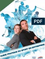 Guide Pratique Du Sport en Entreprise