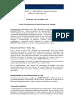 Comunicado ao Mercado - Acordo Estrat