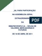 AGE de 18.04.2011 - Manual de Participa