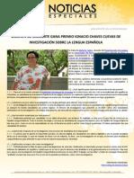 DOCENTE DE UNINORTE GANA PREMIO IGNACIO CHAVES CUEVAS DE INVESTIGACIÓN SOBRE LA LENGUA ESPAÑOLA