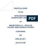 Extraordinary Shareholders' Meeting - 04.28.2011 - Practical Guide (2nd Call)