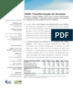 Press-release referente ao 4T08