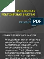 fisiologi pertumbuhan bakteri