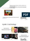 Ayotle - vision par ordinateur et capture de mouvements