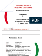 Investing in Kenya_Konza Investment 2012