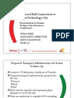 Kenya Railways_Konza Investment 2012