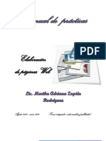 Manual de practicas para realizar paginas html