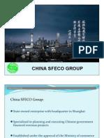 China SFECO Group Profile_Konza Investment 2012