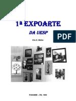 1ª EXPOARTE DA UESP, EM PANAMBI - RS