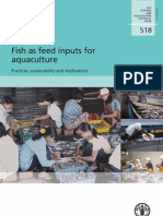 Fish as Feed Inputs for Aquaculture, Practices, Sustainability and Implications