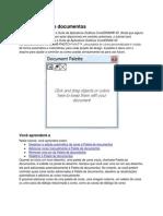 Corel - Usar a Paleta de documentos