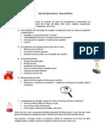Guía operaciones BD