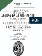 Comentários do Grande Afonso d'Albuquerque