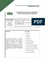 Www.der.Pr.gov.Br Arquivos File PDF PDF Pavimentacao ES-P11-05Solo-Cimento SoloTratadoCimento