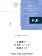Taking Fear Out of Schools