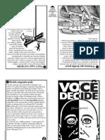 Folheto VOCÊ DECIDE