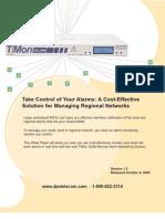Regional Network Management
