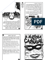 Folheto A Alegria do Carnaval