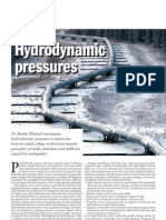 Water Power Penstocks Hydrodynamic Pressures Due to Earthquakes Oct 2005