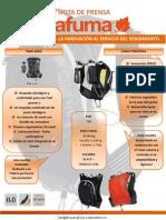 Mochila LaFuma Trail - Speedtrail 5L Nota Prensa Oficial 7dic12