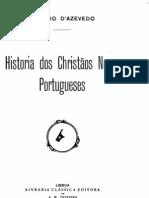 História dos Cristão Novos Portugueses - Lúcio de Azevedo