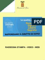 La Urna Electrónica en Italia