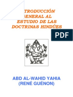 Guenon, Rene - Introduccion General Al Estudio de Las Doctrinas Hindues
