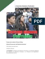 Ecuador Derechos Humanos Pisoteados 07-12-2012