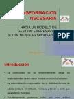 RSE - LA TRANSFORMACIÓN NECESARIA