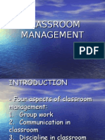 EDU 453 Classroom Management 2