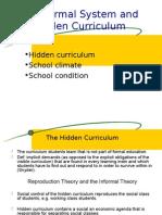 EDU 453 Hidden Curriculum Ch 8