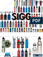 Brand Campaign for SIGG Water Bottle