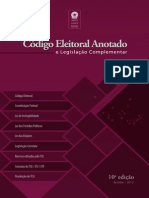 Código eleitoral e legislação complementar - ANOTADO