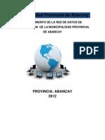 PROYECTO-Municipalidad Provincial de Abancay