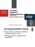 thesis statement for argumentative essay writing an argumentative essay