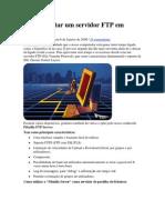 Como montar um servidor FTP em Windows.docx