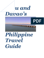 Cebu and Davao Travel Guide_new