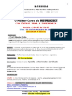 Curso de MS Project Outubro 2012 Ok