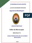 GUIA DE PRACTICAS   Nº5   Aceros recocidos 2 012