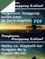 Panginoon Hanggang Kailan