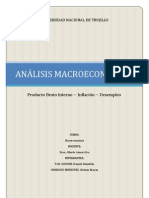 ANÁLISIS MACROECONÓMICO