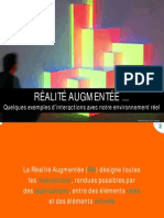 Realite augmentee - Panorama des applications