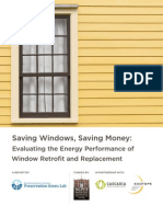 Saving Windows, Saving Money