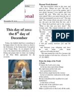 NRCS Inspirational, December 8, 2012