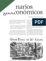 Clementina Díaz y de Ovando -  Escenarios gastronómicos